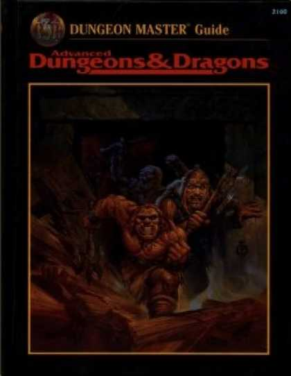 Role Playing Games - Dungeon Master Guide, 2nd Ed., Revised