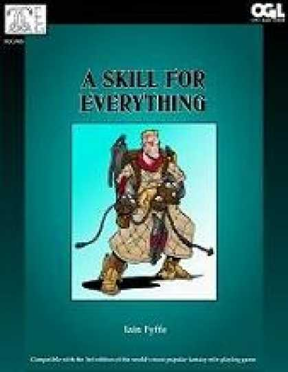 Role Playing Games - A Skill for Everything