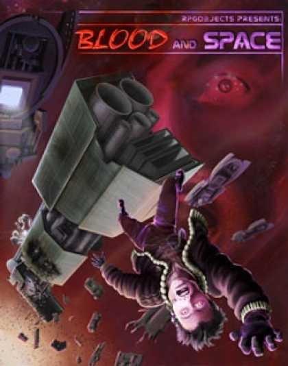 Role Playing Games - Blood and Space: d20 Starship Adventure Toolkit