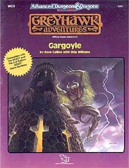 Role Playing Games - WG9 - Gargoyle