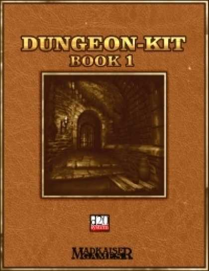 Role Playing Games - Dungeon Kit - Book 1