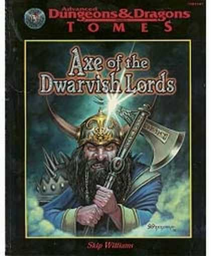 Role Playing Games - Axe of the Dwarvish Lords