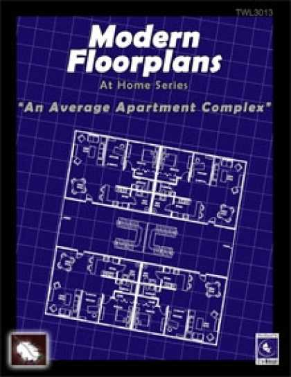 Role Playing Games - Modern Floorplans: Apartment Complex