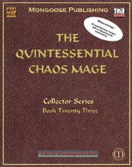 Role Playing Games - The Quintessential Chaos Mage