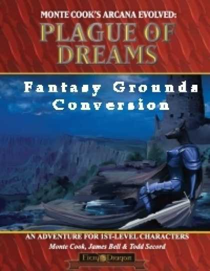 Role Playing Games - Plague of Dreams Conversion for Fantasy Grounds