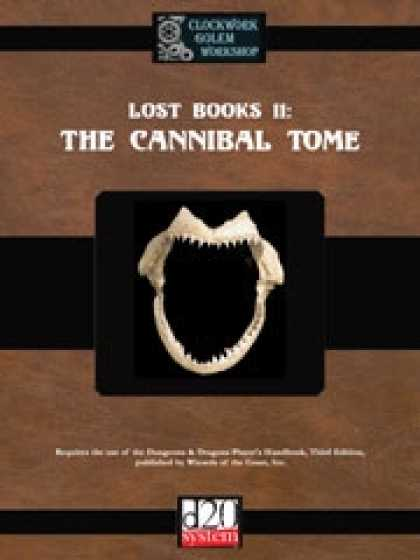 Role Playing Games - Lost Books 11: The Cannibal Tome