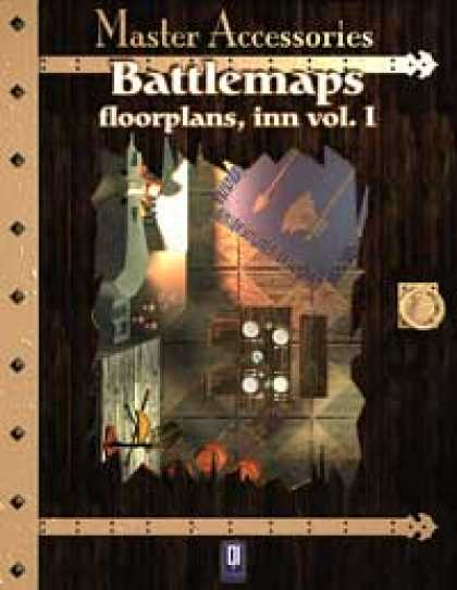 Role Playing Games - Battlemaps: Floorplans, Inn Vol I