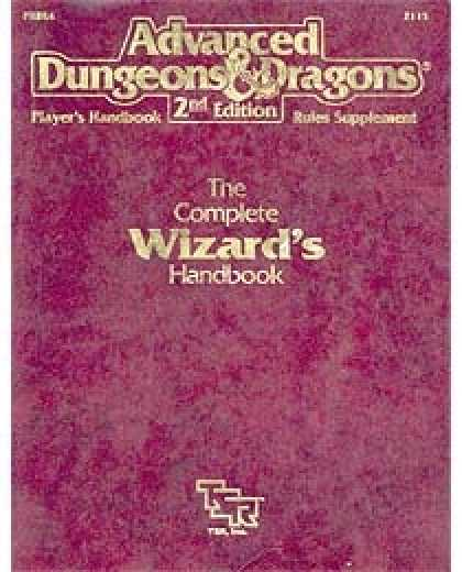 Role Playing Games - The Complete Wizard's Handbook