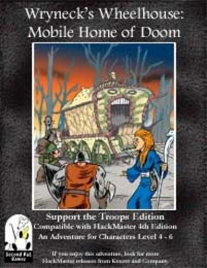 Role Playing Games - Wryneck's Wheelhouse: Mobile House of Doom