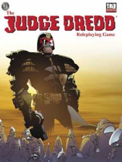 Role Playing Games - Judge Dredd Roleplaying Game