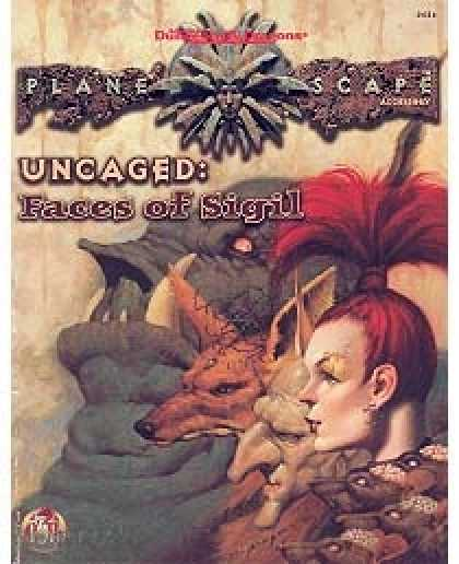 Role Playing Games - Uncaged - Faces of Sigil