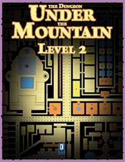 Role Playing Games - The Dungeon Under the Mountain, Level 2