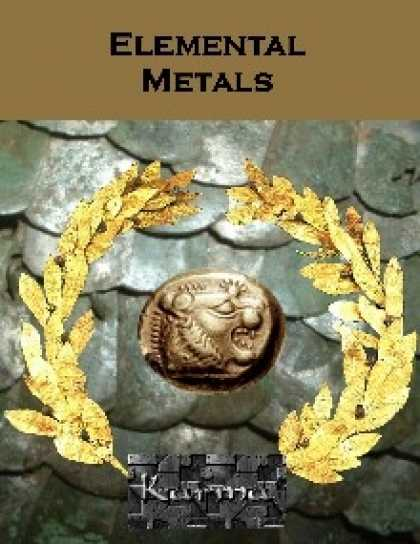 Role Playing Games - Elemental Metals