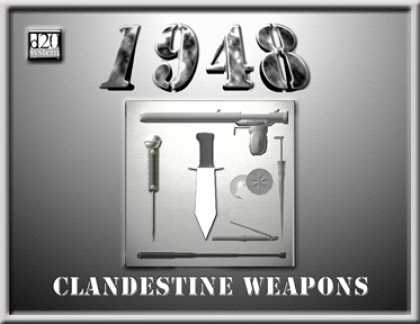 Role Playing Games - 1948:Clandestine Weapons