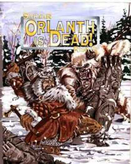 Role Playing Games - HeroQuest: Sartar Rising - Orlanth is Dead