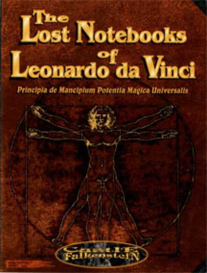 Role Playing Games - The Lost Notebooks of Leonardo da Vinci