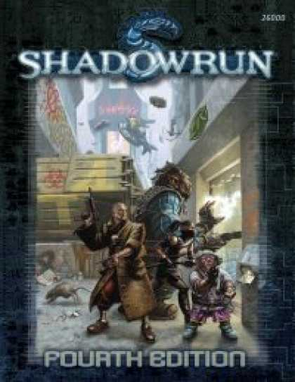 Role Playing Games - Shadowrun, Fourth Edition