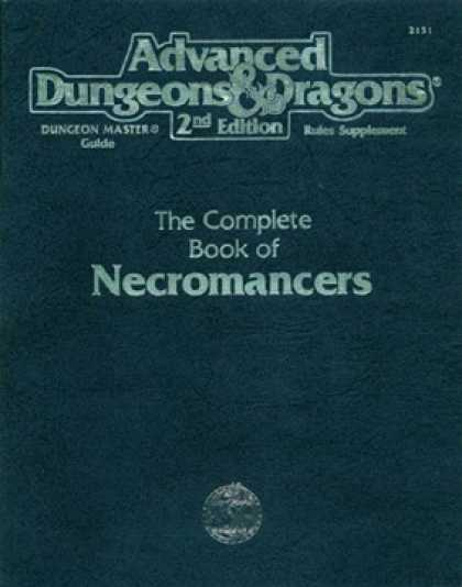 Role Playing Games - The Complete Book of Necromancers