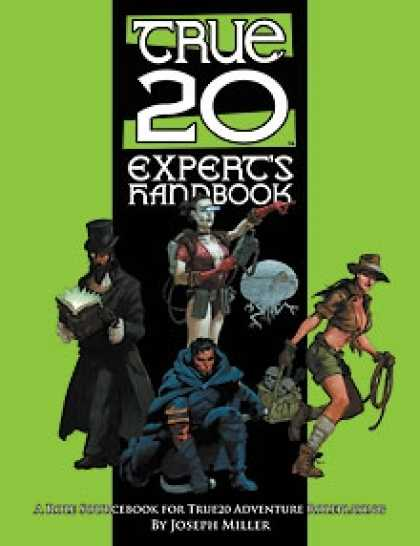 Role Playing Games - True20 Expert's Handbook