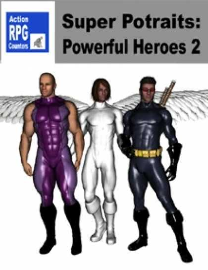 Role Playing Games - Action RPG Counters: Super Portraits: Powerful Heroes 2