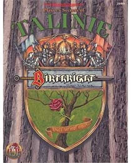 Role Playing Games - Player's Secrets of Talinie