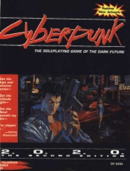 Role Playing Games - Cyberpunk 2.0.2.0. The Second Edition, Version 2.01