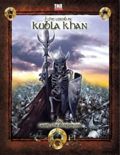 Role Playing Games - The Tomb of Kubla Khan 3.5