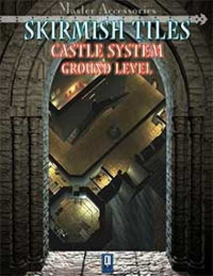 Role Playing Games - SKIRMISH TILES, Castle System: ground level