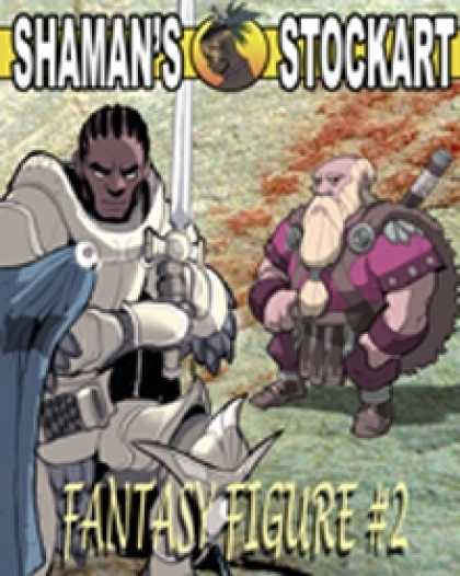 Role Playing Games - Shaman's Stockart Fantasy Figures 2