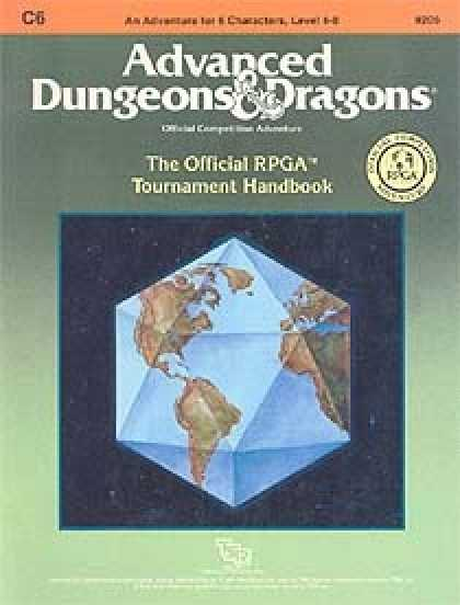 Role Playing Games - C6 - The Official RPGA Tournament Handbook