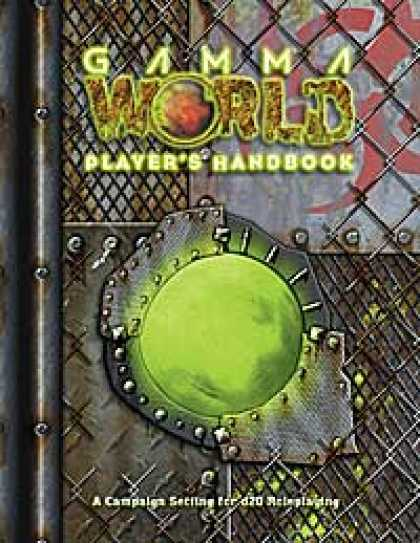 Role Playing Games - Gamma World Player's Handbook