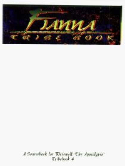Role Playing Games - Tribebook: Fianna (1st Edition)