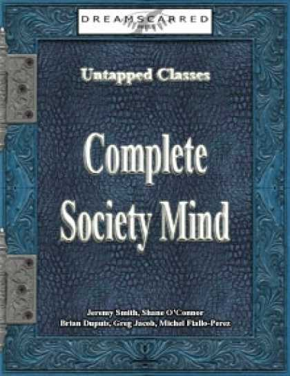 Role Playing Games - Untapped Classes: Complete Society Mind