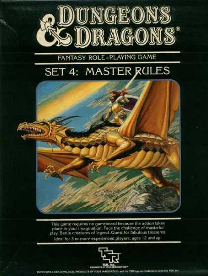 Role Playing Games - Dungeons & Dragons Master Rules