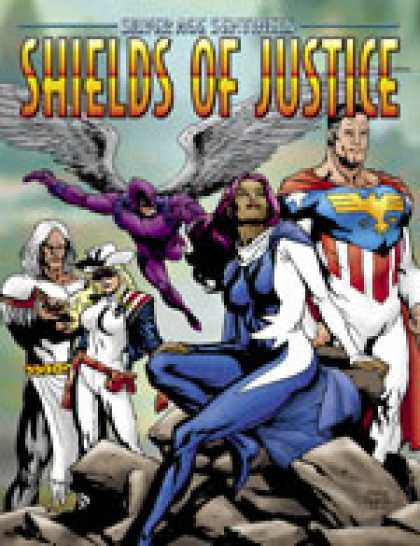 Role Playing Games - Shields of Justice: The Hero's Almanac