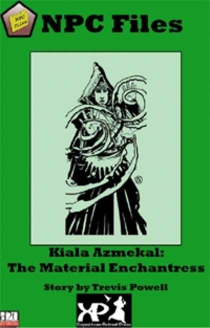 Role Playing Games - NPC Files: Kiala Azmekal