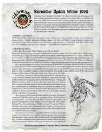 Role Playing Games - Skirmisher Update: Winter 2008