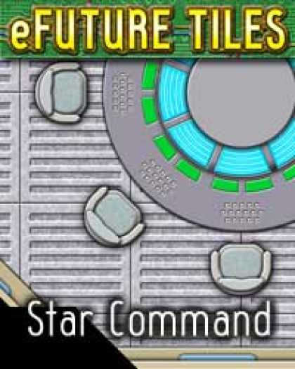 Role Playing Games - e-Future Tiles: Star Command