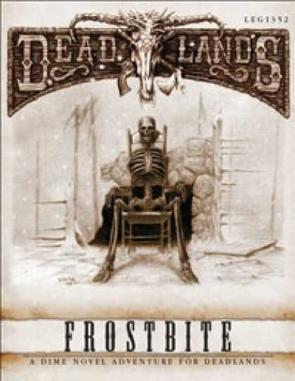 Role Playing Games - Deadlands Dime Novel #03 - Frostbite