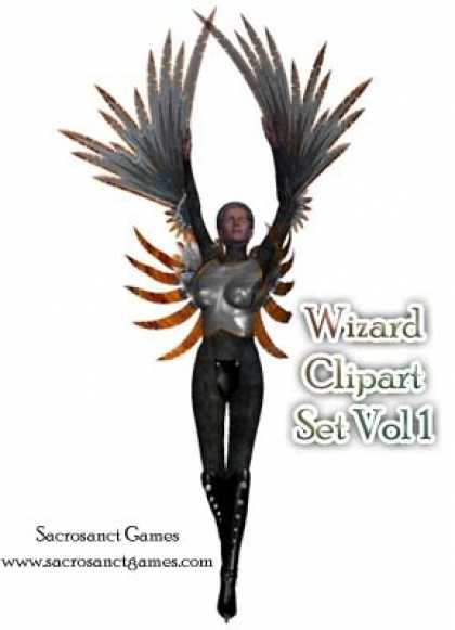 Role Playing Games - Wizard Clipart Vol 1