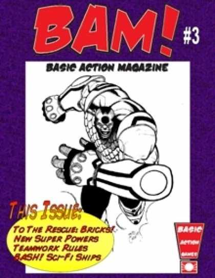 Role Playing Games - BAM! Basic Action Magazine #3