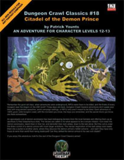 Role Playing Games - Dungeon Crawl Classics #18: Citadel of the Demon Prince