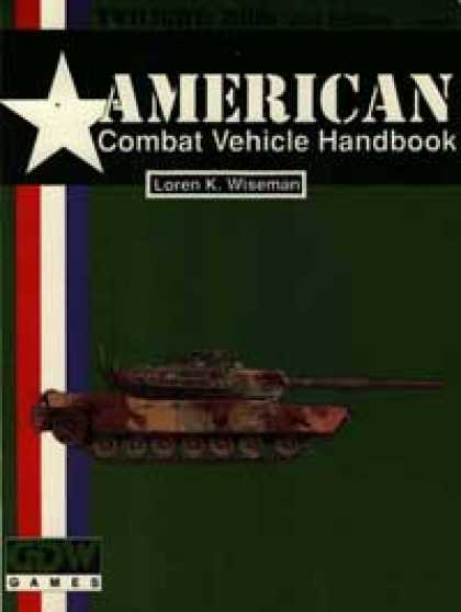 Role Playing Games - American Combat Vehicle Handbook