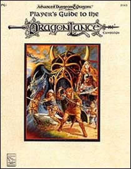 Role Playing Games - Player's Guide to the Dragonlance Campaign