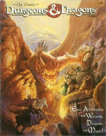Role Playing Games - The Classic Dungeons and Dragons Game