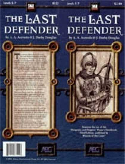 Role Playing Games - The Last Defender