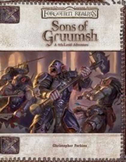 Role Playing Games - Sons of Gruumsh
