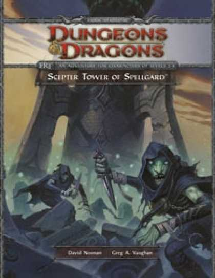 Role Playing Games - FR1 Scepter Tower of Spellgard