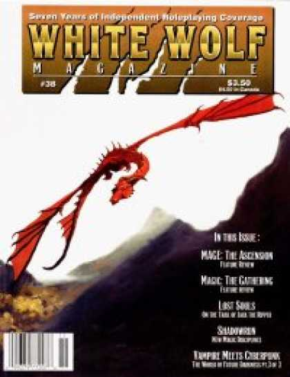 Role Playing Games - White Wolf Magazine #38