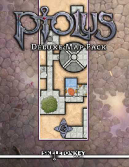 Role Playing Games - Ptolus Deluxe Map Pack
